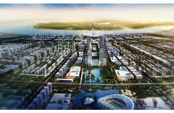 国投湄洲湾产业园概念性规划设计图片